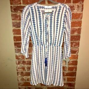 Infinity Raine Dresses - NWT Striped Tassel Tie Dress